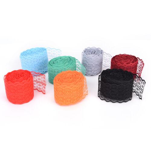 FR_10 verges de dentelle ruban DIY vêtements accessoires f Ek 2