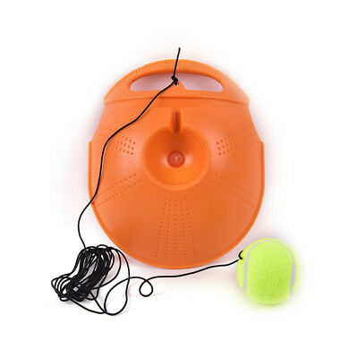 Tennis Trainer Baseboard Sparring Device Tennis Training Tools with Tennis balls 4