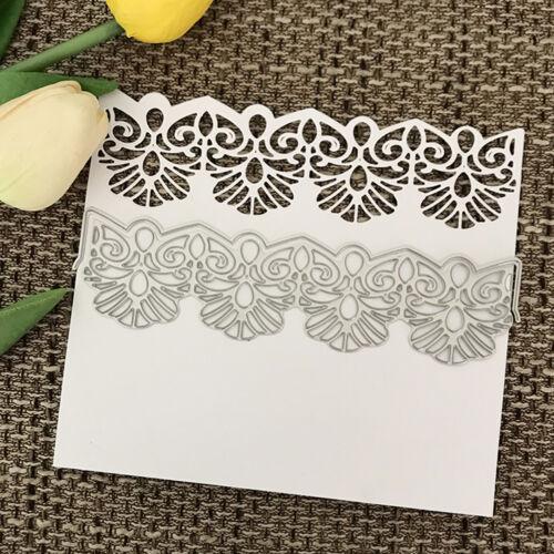 "lace Design Metal Cutting Dies For DIY Scrapbooking Card Paper Album""# 2"