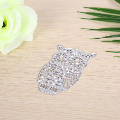 Owl Metal DIY Cutting Dies Stencil Scrapbook Album Paper Card Embossing Craft-# 2