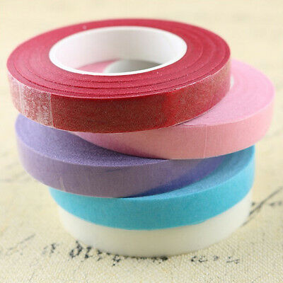 Florist Floral Stem Tape Corsages Buttonhole Artificial Flower Stamen Wrap JT 4