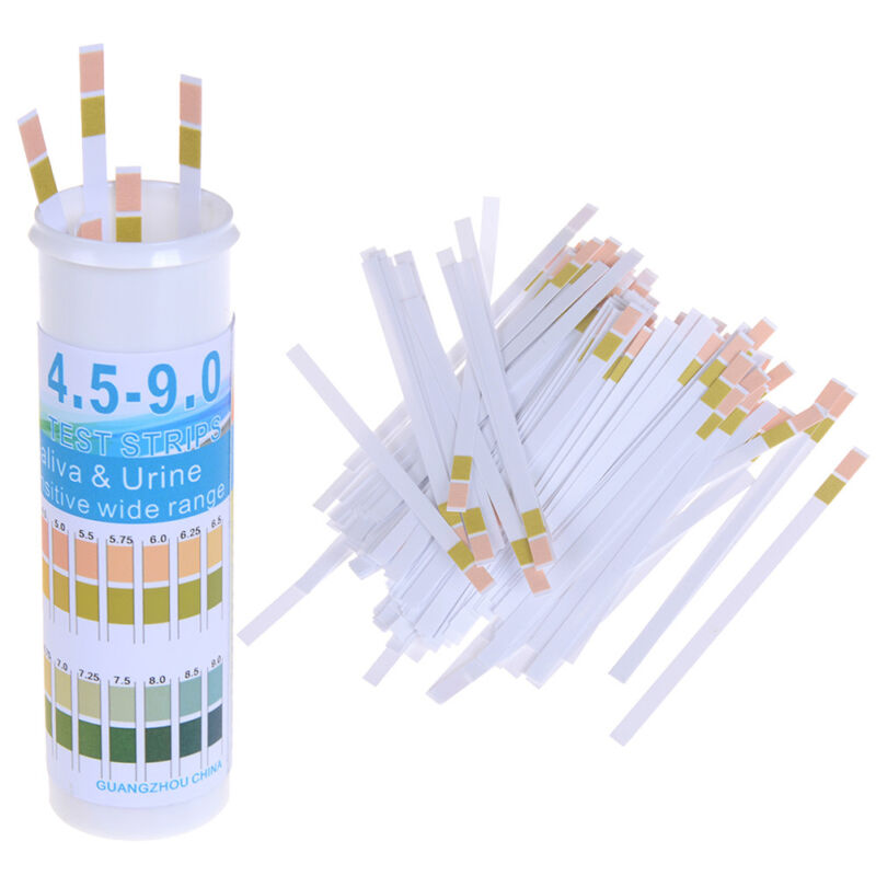 150 Strips bottled ph test paper range ph 4.5-9.0 for urine & saliva indicato nw 3