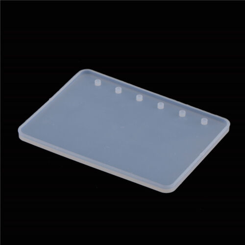 A7//A6//A5 Notebook Shape Silicone Mold DIY Resin Book Mould Crystal Epoxy MoFBKH