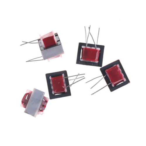 5PCS Audio Transformers 600:600 Ohm Europe 1:1 EI14 Isolation Transformer N207