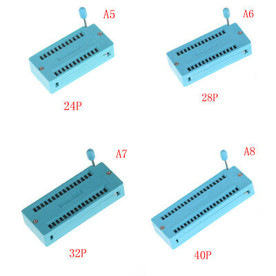 14/16/18/20/24/28/32/40 pin IC Test Universal ZIF Socket H&J 8