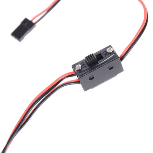 3 Way Power On/Off Switch With JR Receiver Cord For RC Boat Car Flight np 3