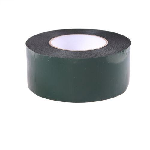 6-60mm * 10m fuerte adhesivo impermeable doble cara cinta de espuma negroH5 4