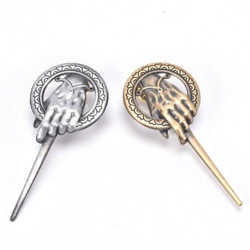Für Game of Thrones Hand des Königs Revers Replica Vintage Kostüm Pin BroscheFBB