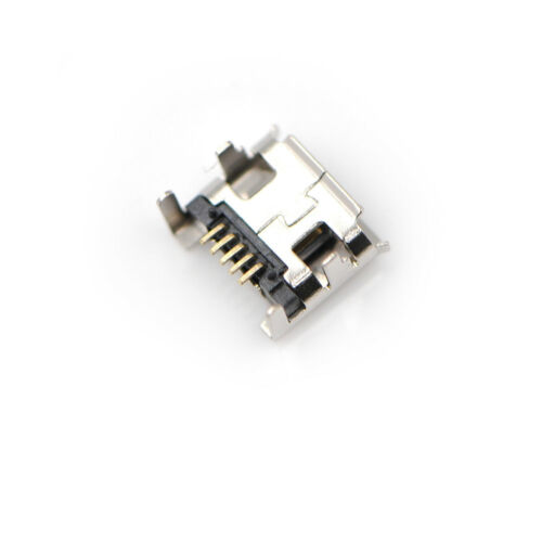 10pc Micro USB Type B Female 5Pin DIP Socket Jack Connector Port Charging  wl 3
