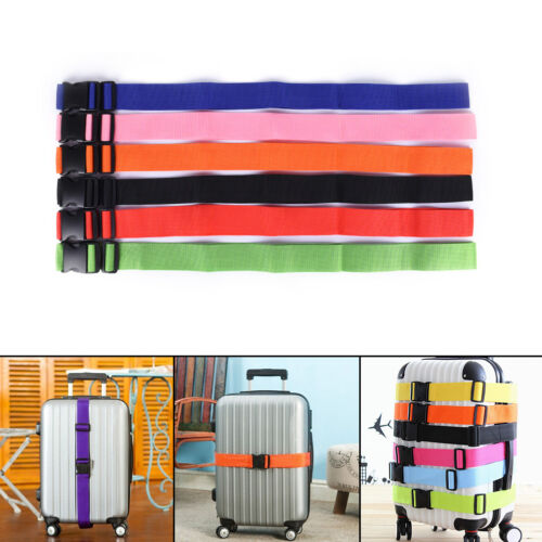 Useful Travel Luggage Suitcase Strap Baggage Backpack Safe Belt Reinforcement YT 2