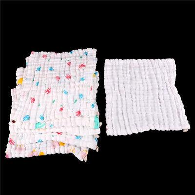 Soft Cotton Baby Infant Newborn Bath Towel Washcloth Feeding Wipe Cloth LZLU 4
