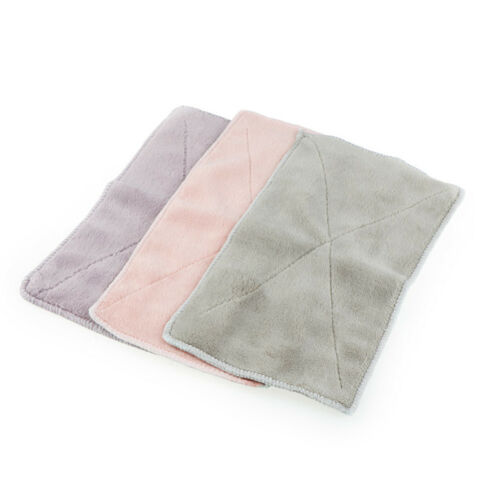 6pcs Anti-grease Dishcloth Duster Wash Cloth Hand Towel Cleaning Wiping Rags@J 9