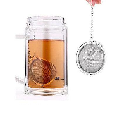 En acier inoxydable bouilloires thé sphère oeuf forme boule maille infuser 3