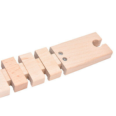 1 Pcs Wooden Train Track Railway Accessories Compatible All Major Brand JH