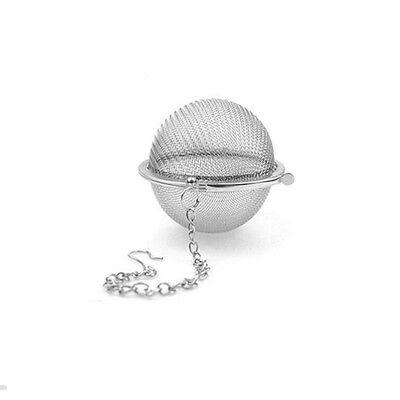 En acier inoxydable bouilloires thé sphère oeuf forme boule maille infuser 6
