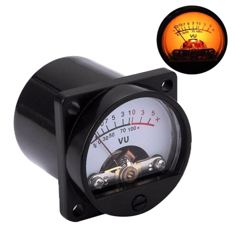 6-12V panel VU meter bulb warm back light recording audio level amp meter SPFR 2