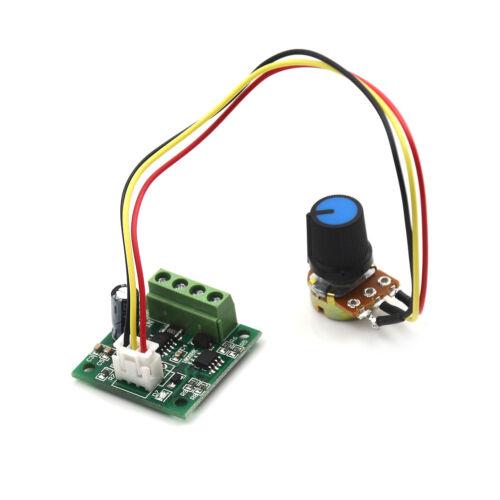 Mini Pwm Motor Speed Controller Regulator Module Dc 1.8V To 12V 2  LDUK