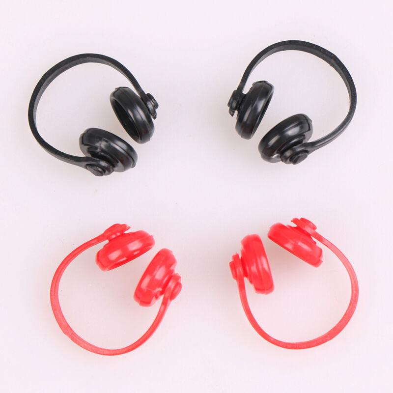 1//12 Scale Dollhouse Miniature Accessories Black Earphone Headphone Nice CPUK