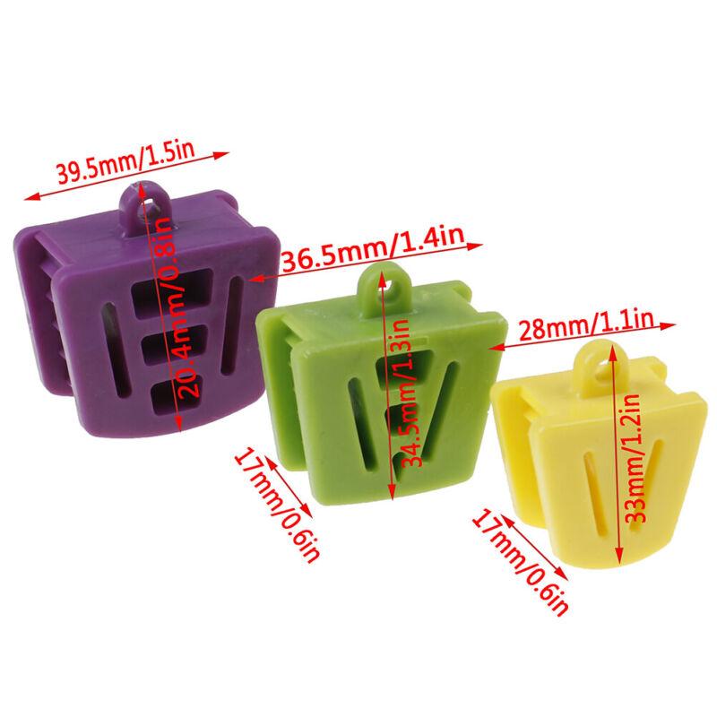 3PC Zahnärztlich Silikon Mund Beißen Gummi Öffner Retraktor Latex Zähne Werkz li 4