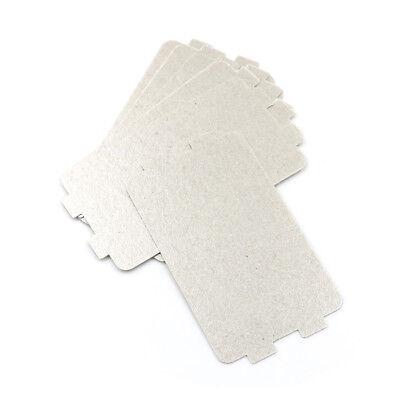 5 pezzi di ricambio più spessi per forni a microonde mica microonde 10.7*6.4cmWF