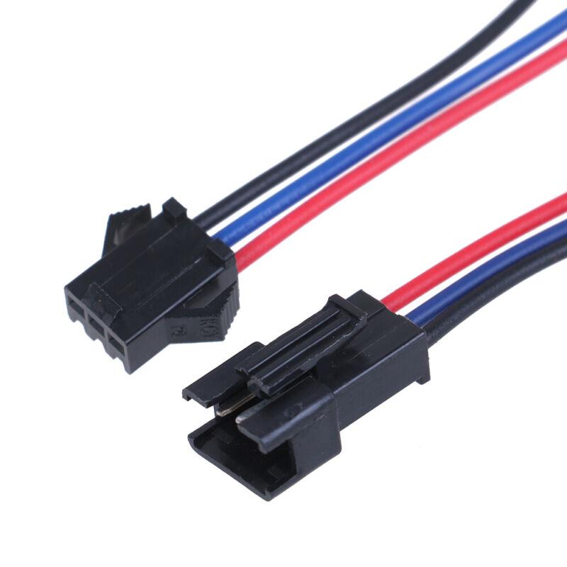 5 Paar SM 2Pin 3Pin 4Pin Stecker und Buchse LED Strip Wire Connector RSDEZYB