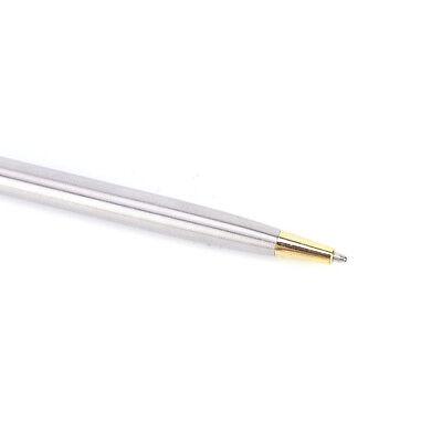 1pc Metal Ballpoint Pen Stationery Stainless Steel Rod Rotating Pen BallpenPDH 5