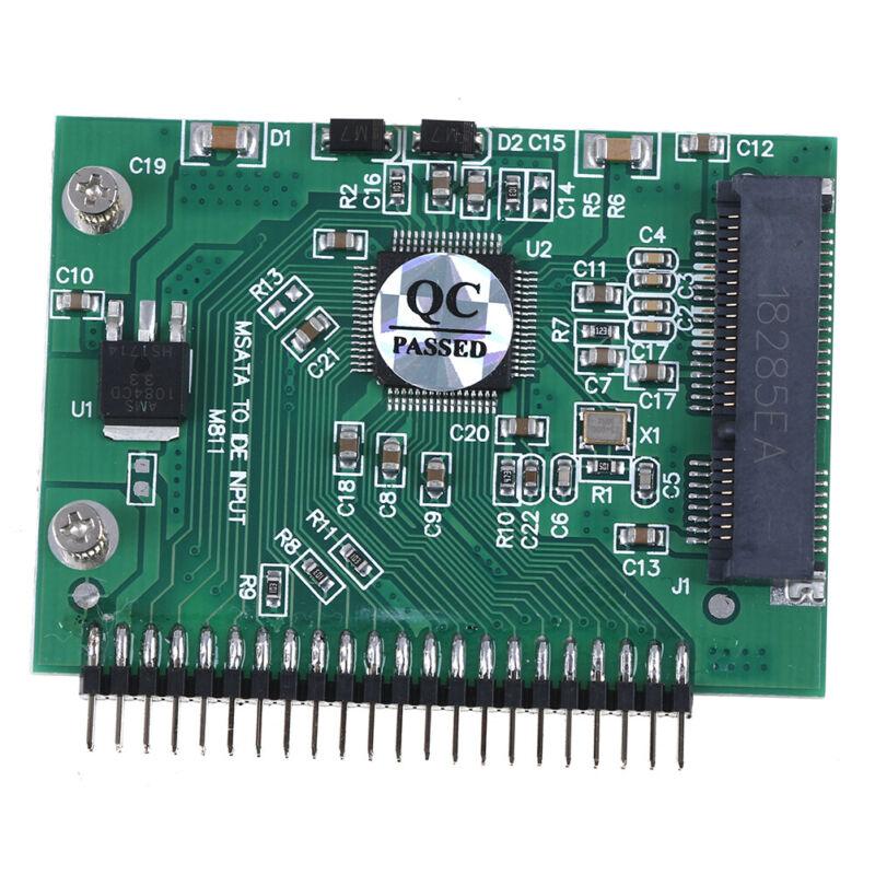 mSATA adapter mSATA SSD to 44Pin IDE adapter mSATA IDE converter card for laptBB 10
