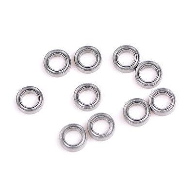 6201Z 12 x 32 x 10mm Double Shielded Deep Groove Wheel Ball Bearin V1O3
