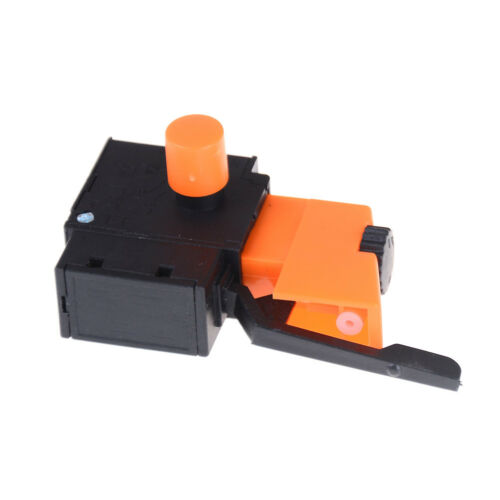 FA2-6//1BEK SPST Lock on Power Tool Trigger Button Switch Black K7N1