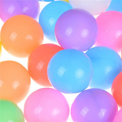 50//100//200//500X Secure Baby Kid Pit Toy Swim Fun Soft Plastic Ocean Ball gift EH