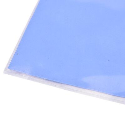 Blue GPU CPU Heatsink Cooling Thermal Conductive Silicone Pad 100x100x0.5mm HICA