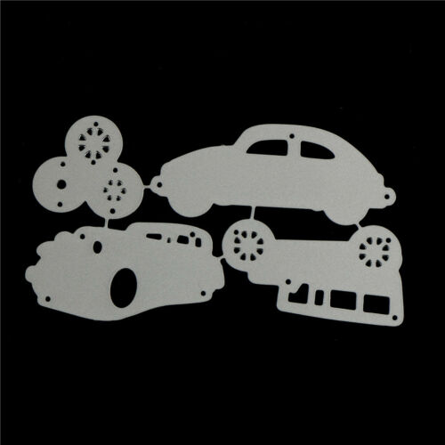 4pcs Classic Cars Metal Cutting Dies For DIY Scrapbooking Album Paper Cards VN 6