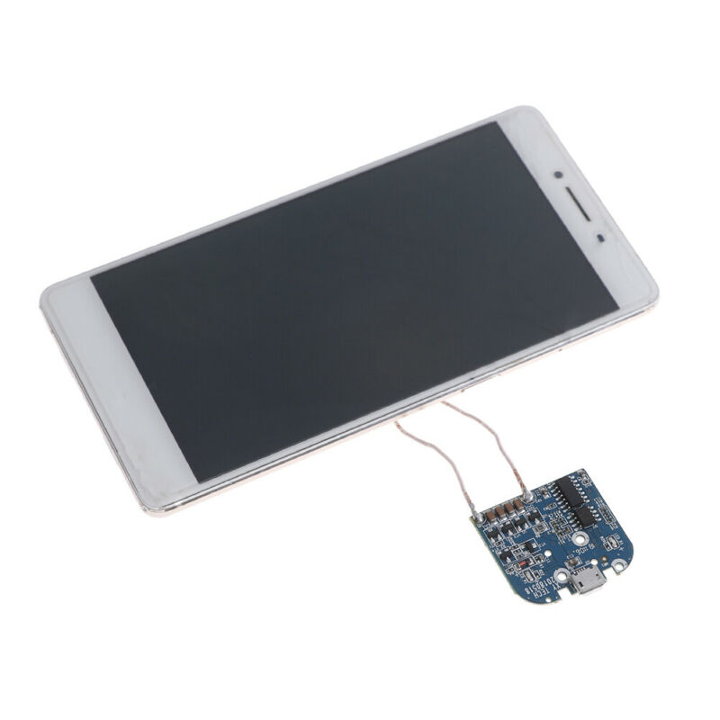 1PC QI WIRELESS charger transmitter module coil circuit board fast charging  PO