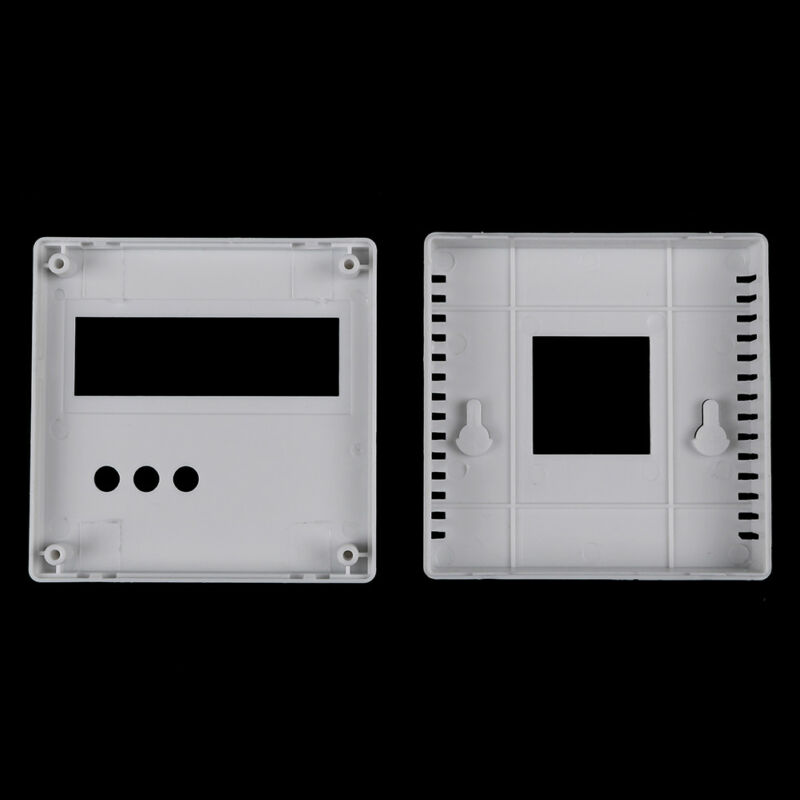 86Plastic project box enclosure case for diy LCD1602 meter testers withbuttonsA! 12