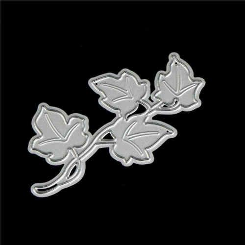 2X Flower Tree Design Metal Cutting Die For DIY Scrapbooking Album Paper Card 5