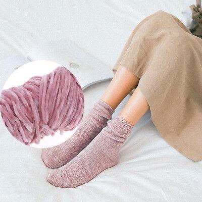 100g Velvet yarn Soft protein Cashmere silk wool Yarn crochet handmade knitti qr 2