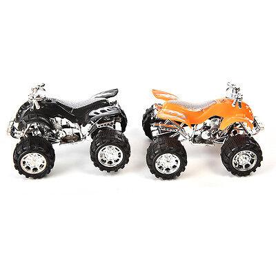 Pull Back Car Beach Four-wheel Motorcycle Model Baby Kids Children Xmas Toys DSU
