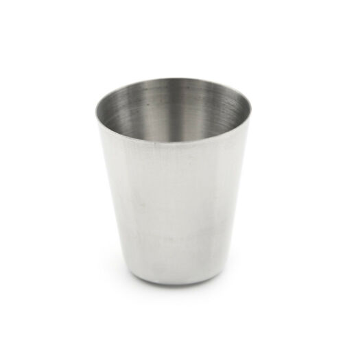 4pcs Camping / Travel Stainless Steel Shot Glass Set TLP 4
