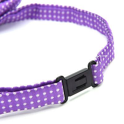 Mascota perro gato ajustable cuello collar corbata aseo traje pajarita KYVN 9
