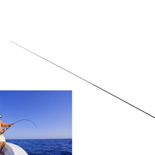 56 cm 2 intervalli Canne da pesca punte Canna lunga in carbonio pieno e cavo