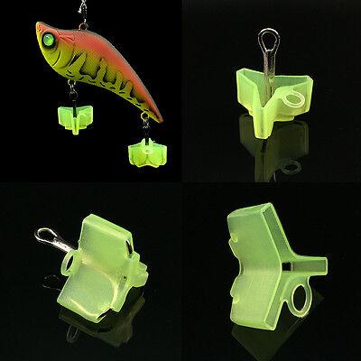 10//50Pcs Durable Fishing Treble Hooks Jig Covers Case Bonnets Caps Protector QP