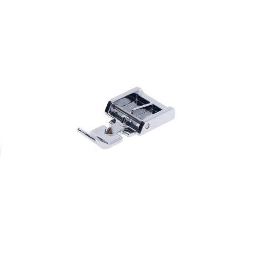 2 Seiten Metall Reißverschluss Nähfuß für Snap-on Nähmaschine NähzubehörK6