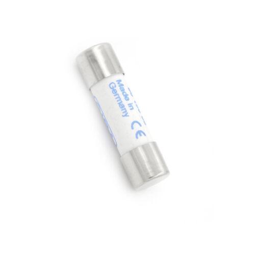 Multimeter 10 x 38mm 1000V 10A Zylinder Keramiksicherung Weiß XJ
