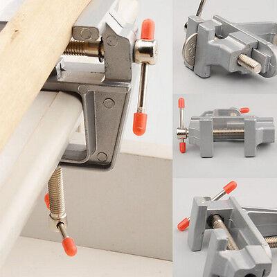 """3,5 /""""Aluminium kleine Juweliere Hobby Clamp auf Tisch Schraubstock Mini Tool ^"""