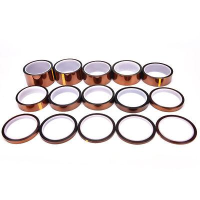 5/10/20mm Ruban Polyimide Résistant à la chaleur Kapton Polyimide Adhésif 3
