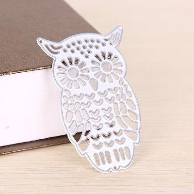 Owl Metal DIY Cutting Dies Stencil Scrapbook Album Paper Card Embossing Craft-# 3