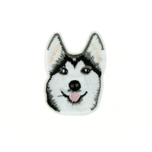 """Dog BF I Love my Husky 3.5/"""" Embroidered Patch Iron or Sew-on Decorative Applique"""