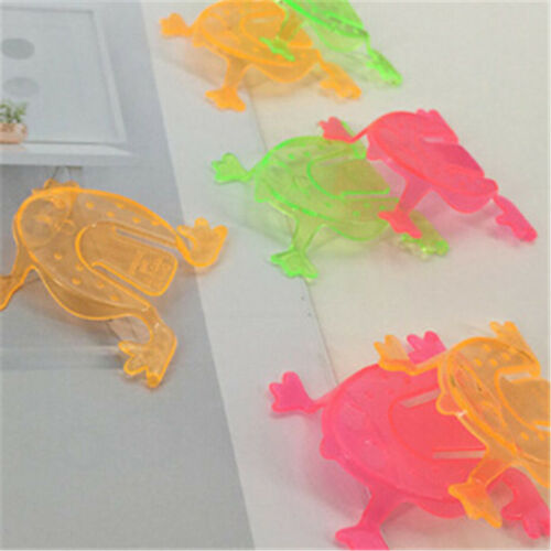 10PCS Jumping Frog Hoppers Game Kids Party Favor Kids Birthday Party Toys ÖÖ 7