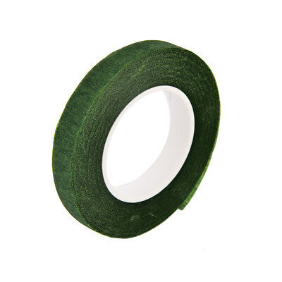 Durable Rolls Waterproof Green Florist Stem Elastic Tape Floral Flower 12mm PD 9
