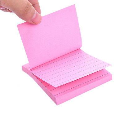 Sticky Notes Notebook Memo Pad Bookmark Paper Sticker Notepad Stationery Cl 10